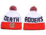Шапка Мишка (Mishka) New York Death Adders Красный / Белый